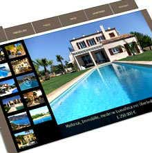 Web design majorca - Immobilien Slider